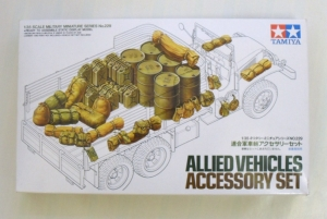 TAMIYA 1/35 35229 ALLIED VEHICLES ACCESSORY SET