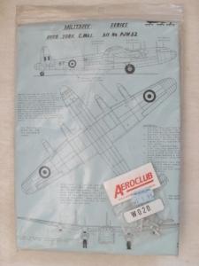 WELSH MODELS 1/144 PJW52 AVRO YORK C.Mk.I