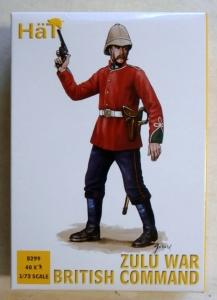 HAT INDUSTRIES 1/72 8299 ZULU WAR BRITISH COMMAND
