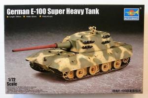 TRUMPETER 1/72 07121 GERMAN E-100 SUPER HEAVY TANK