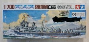 TAMIYA 1/700 77030 SHIRATUYU