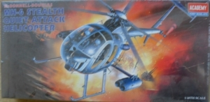 1/48 1691 McDONNELL DOUGLAS MH-6 STEALTH