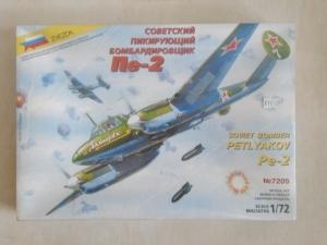 ZVEZDA 1/72 7205 PETLYAKOV Pe-2