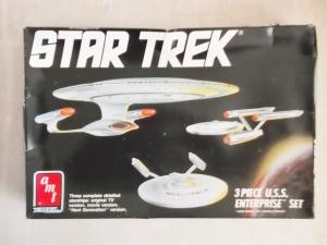 AMT/ERTL  6618 STAR TREK 3 PIECE USS ENTERPRISE SET 1/2500