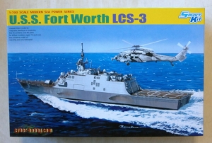 CYBER-HOBBYCOM 1/700 7129 USS FORT WORTH LCS-3