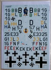 XTRADECAL 1/72 72220 HEINKEL He 111P