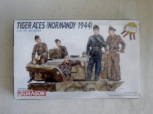 DRAGON 1/35 6028 TIGER ACES NORMANDY 1944