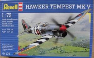 REVELL 1/72 04176 HAWKER TEMPEST Mk.V