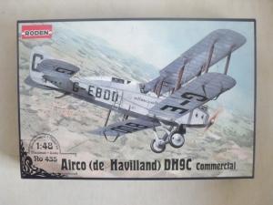 RODEN 1/48 435 AIRCO  de HAVILLAND  D.H.9C COMMERCIAL