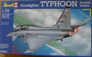 REVELL 1/72 04621 EUROFIGHTER TYPHOON 2 SEAT
