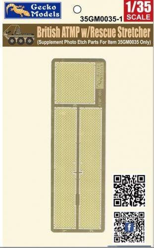 GECKO MODELS 1/35 350035-1 BRITISH ATMP W/RESCUE STRETCHER