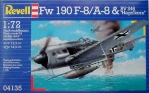 REVELL 1/72 04135 Fw 190F-8/A-8 BV246 HAGELKORN