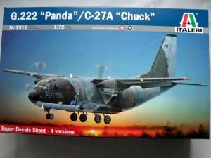 ITALERI 1/72 1311 G.222 PANDA/C-27A CHUCK