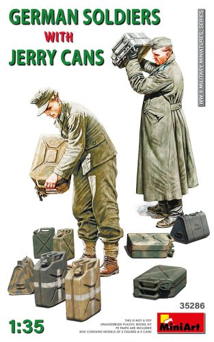 MINIART 1/35 35286 GERMAN SOLDIERS WITH JERRY CANS