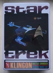 AMT  699 STAR TREK KLINGON BATTLE CRUISER