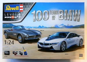 REVELL 1/24 05738 100 YEARS OF BMW GIFT SET