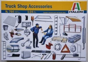ITALERI 1/24 764 TRUCK SHOP ACCESSORIES