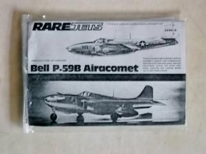 RAREPLANE 1/72 BELL P-59B AIRACOMET