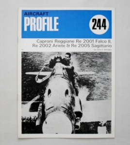 PROFILES AIRCRAFT PROFILES 244. REGGIANE Re 2001 2002 2005