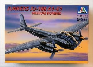 ITALERI 1/72 117 JUNKERS Ju 188 A1-E1