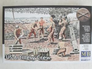 MASTERBOX 1/35 3577 US ARTILLERY CREW