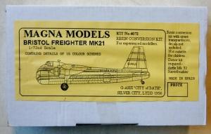 MAGNA CONVERSION SET 1/72 4072 BRISTOL FREIGHTER Mk.21