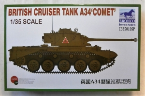 BRONCO 1/35 35010SP BRITISH CRUISER TANK A34 COMET