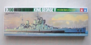 TAMIYA 1/700 77525 KING GEORGE V