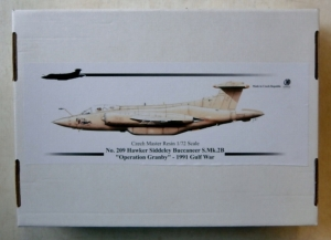 CZECH MASTER RESIN 1/72 209 HAWKER SIDDELEY BUCCANEER S.Mk.2B OPERATION GRANBY 1991 GULF WAR