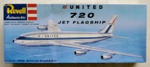 REVELL  85-0243 UNITED 720 JET FLAGSHIP