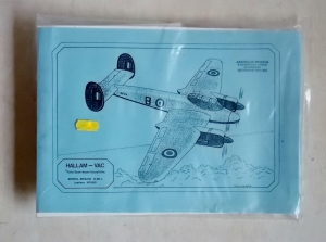 HALLAM VAC 1/72 502 BRISTOL BRIGAND B.Mk.I