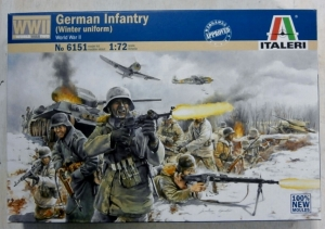 ITALERI 1/72 6151 GERMAN INFANTRY  WINTER UNIFORM