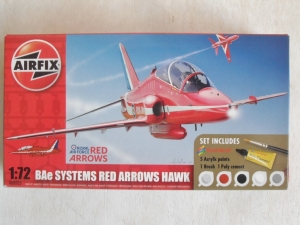 AIRFIX 1/72 68005 BAe SYSTEMS RED ARROWS HAWK
