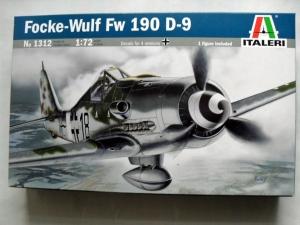ITALERI 1/72 1312 FOCKE-WULF Fw 190 D-9