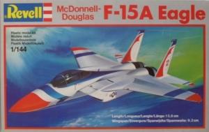 REVELL 1/144 04010 McDONNELL DOUGLAS F-15A EAGLE