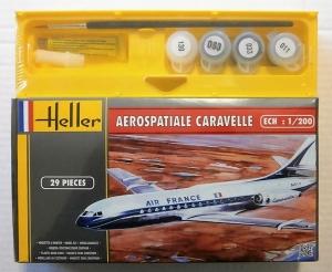 HELLER 1/200 49074 AEROSPATIALE CARAVELLE