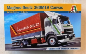 ITALERI 1/24 3912 MAGIRUS-DEUTZ 360M19 CANVAS