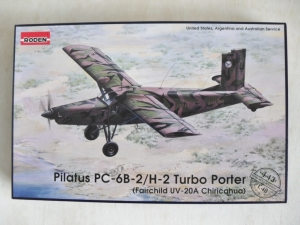 RODEN 1/48 443 PILATUS PC-6B-2/H-2 TURBO PORTER