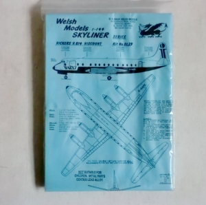 WELSH MODELS 1/144 SL29 VICKERS V.814 VISCOUNT