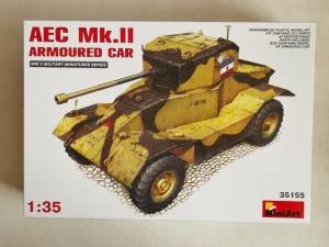 MINIART 1/35 35155 AEC Mk.II ARMOURED CAR