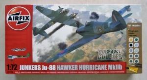 AIRFIX 1/72 50038 JUNKERS Ju 88   HAWKER HURRICANE Mk.IIB