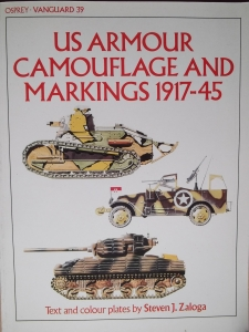 VANGUARD  39. US ARMOUR CAMOUFLAGE   MARKINGS 1917-45