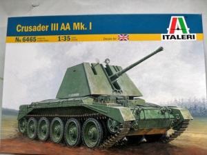 ITALERI 1/35 6465 CRUSADER III AA Mk.I