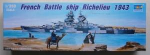 TRUMPETER 1/350 05311 FRENCH BATTLESHIP RICHELIEU