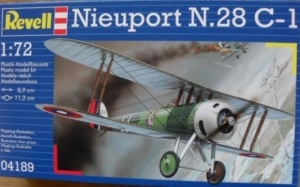 REVELL 1/72 04189 NIEUPORT N.28 C-1