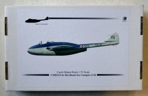 CZECH MASTER RESIN 1/72 219 de HAVILLAND SEA VAMPIRE F.20