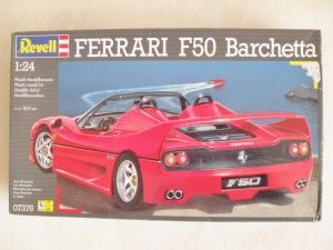 REVELL 1/24 07376 FERRARI F50 BARCHETTA