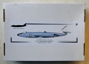 CZECH MASTER RESIN 1/72 224 SUPERMARINE SCIMITAR F.1