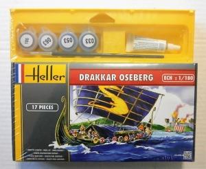 HELLER 1/180 49056 DRAKKAR OSEBERG