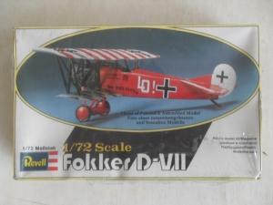REVELL 1/72 4156 FOKKER D-VII